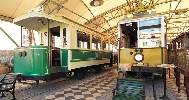 The Kadıköy-Moda line had 20 cars, starting on July 29, 1934, and stayed in service till 1966 when the line was canceled.