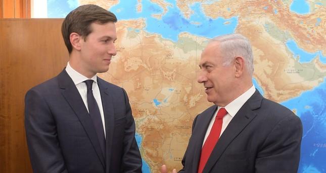 نتنياهو يبحث مع كوشنير وغرينبلات عملية السلام وأوضاع غزة