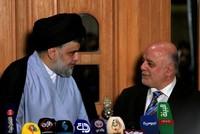Iraqi PM Abadi, cleric Sadr say political blocs to enter into alliance