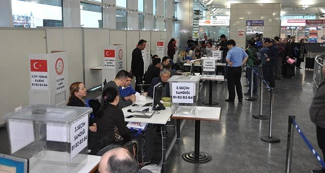 بدء تصويت الأتراك في أوروبا في الاستفتاء على التعديلات الدستورية
