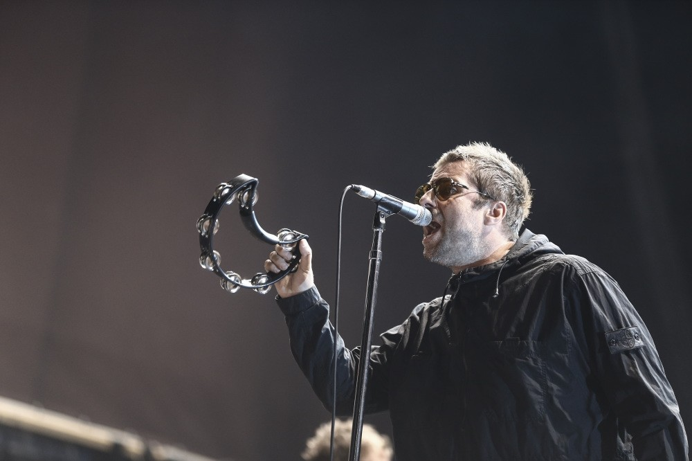 Liam Gallagher performed in Istanbul's Ku00fcu00e7u00fcku00e7iftlik Park on Aug. 14.