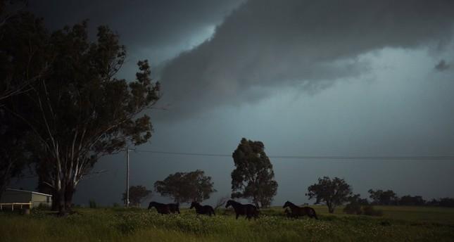إجلاء ألفي شخص من مسار إعصار تريفور شمال أستراليا