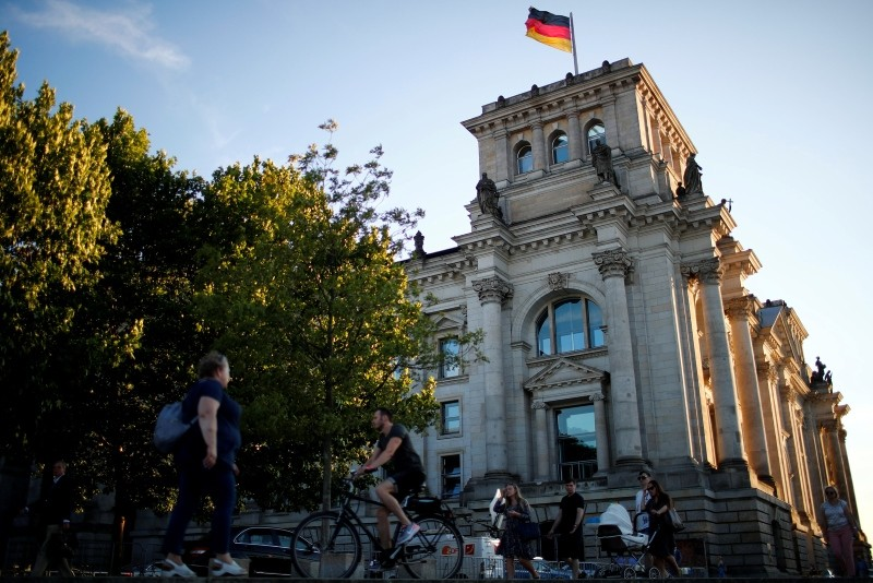 The Reichstag building is seen in Berlin, Germany, July 5, 2018. (Reuters Photo)