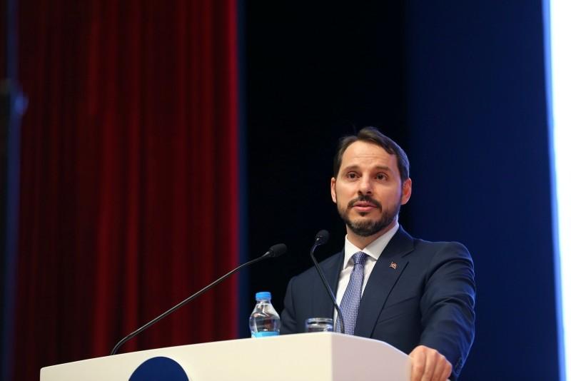 Treasury and Finance Minister Berat Albayrak (AA Photo)