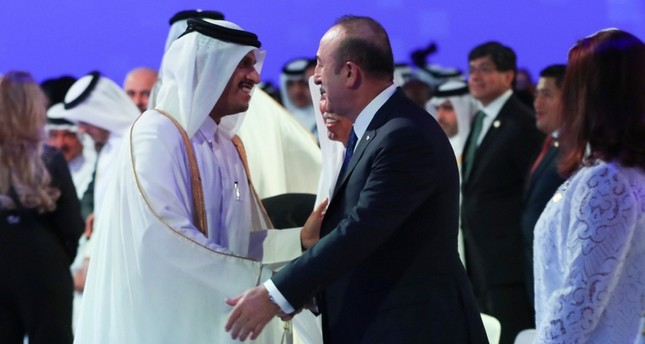 Gulf sanctions on Qatar 'unacceptable': FM Çavuşoğlu
