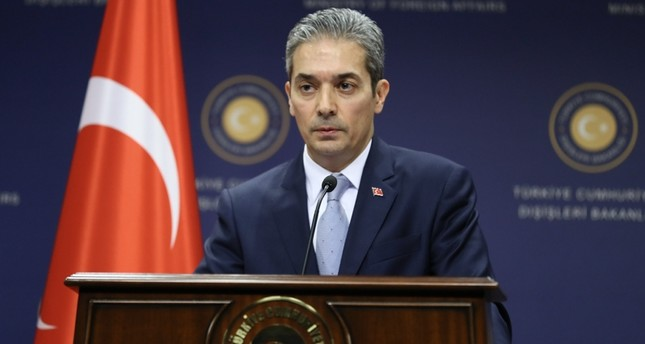 المتحدث باسم وزارة الخارجية التركية، حامي أقصوي