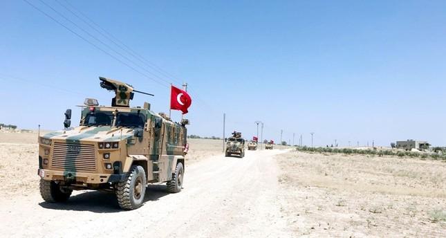 القوات التركة تسير دورية جديدة في منبج السورية