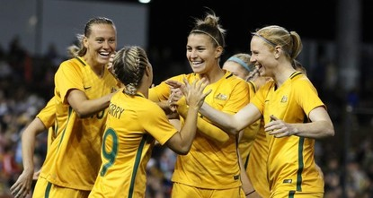 Australian women's football team wins equal pay