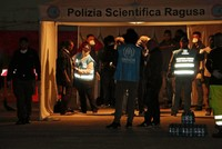 Danish cargo ship with over 100 rescued migrants lands in Sicily
