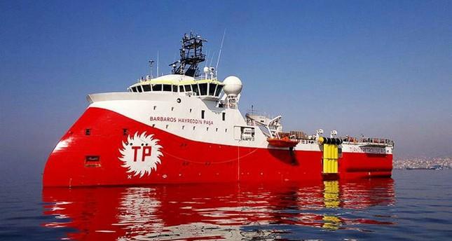 Turkish Petroleum's seismic vessel Barbaros Hayreddin Paşa. (File Photo)