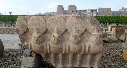 Excavation works complete after unearthing more parts of huge pharaoh statue in Cairo