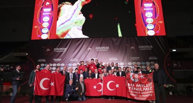 تركيا تحصد 16 ميدالية بينها 6 ذهبيات ببطولة أوروبا للمصارعة