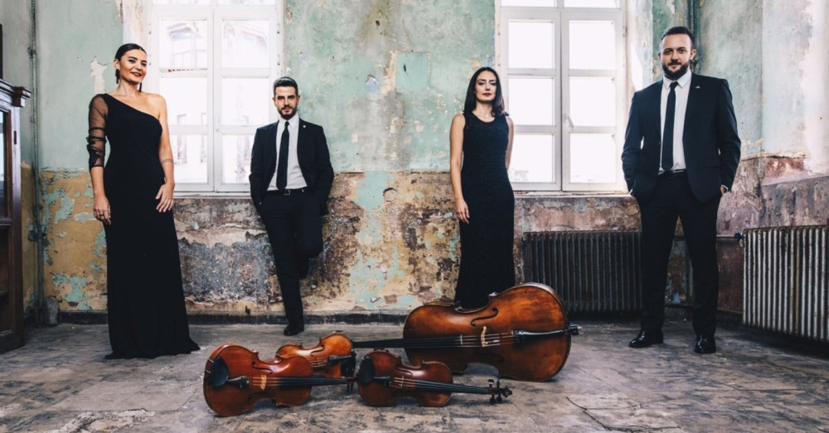 The Semplice Quartet will perform today.