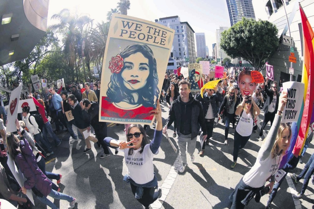 Following President Trumpu2019s inauguration as the 45th U.S. president, protests and rallies were held over 30 countries around the world in solidarity with the Womenu2019s March, in defense of womenu2019s and human rights.