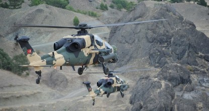 Турция поставит в Пакистан 30 вертолётов ATAK