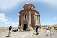 Ani site, which is on the Turkish-Armenian border, is known as