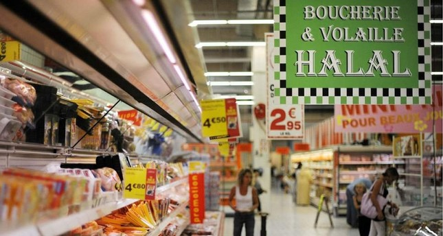 A halal supermarket in Paris, France. (FILE Photo)