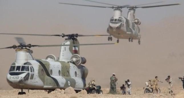 مناورات عسكرية إيرانية على الحدود مع تركيا والعراق