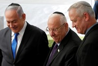 Netanyahu, Gantz agree on need for unity government after Israel's repeat election, premiership wavers