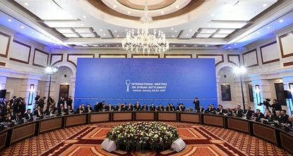 pFresh talks on the Syria conflict will be held in Astana at the end of the month, Kazakhstan said Thursday, as part of a Turkey-backed push to end the six-year conflict./p