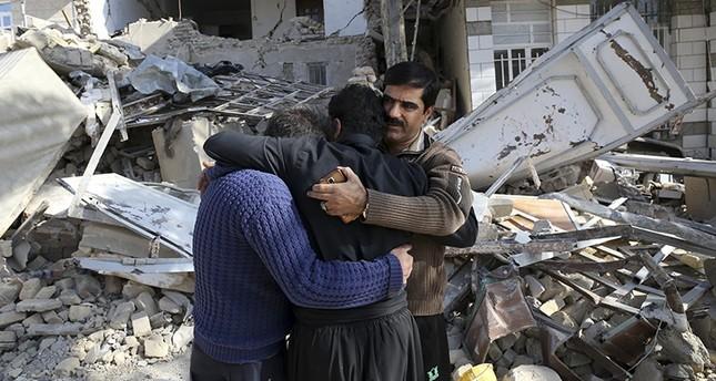 من الزلزال الذي ضرب غرب إيران في تشرين ثاني 2017 (AP)