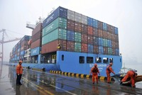 China's exports shrink most in 2 years, raising risks to global economy