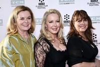 |Die Schauspielerinnen Heather Menzies-Urich (), Kym Karath (M) und Debbie Turner bei dem 50. Jubiläum von The Sound of Music (Reuters Foto)