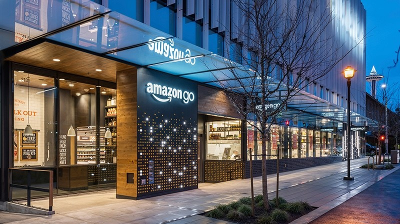 This undated image provided by Amazon shows an Amazon Go store in Seattle. (Amazon via AP)