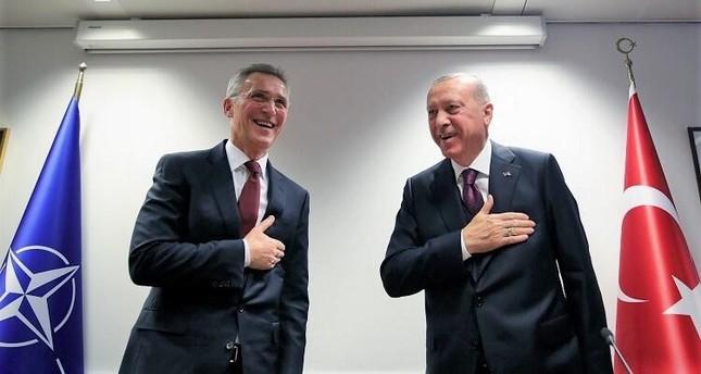 أردوغان يشكر ستولتنبرغ على تقييمه الموضوعي حيال تركيا