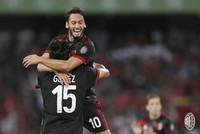 Çalhanoğlu scores first goal as AC Milan thrash Bayern 4-0 in China