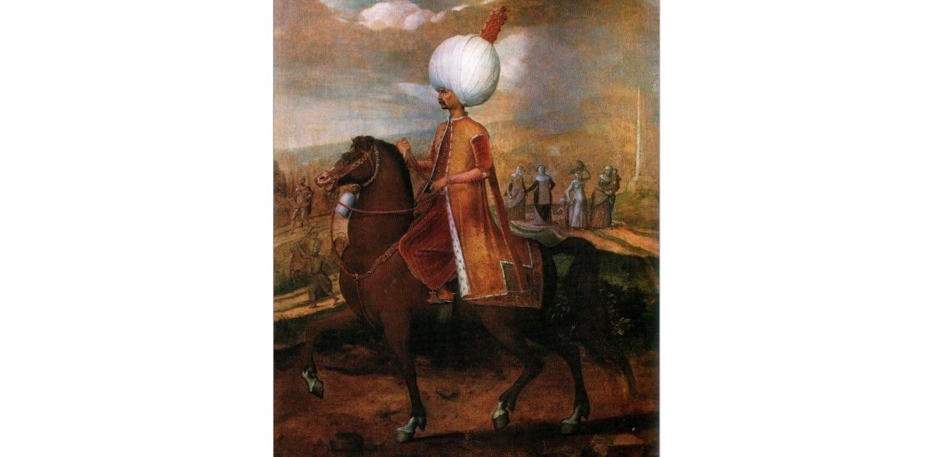 Young Su00fcleyman by Flemish painter Hans Eworth.