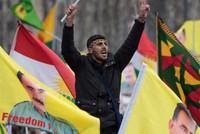 Pro-PKK protesters steal police's gun during anti-Turkey demo in Germany