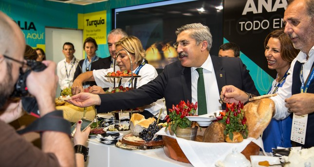 Hüseyin Yayman, the Deputy Minister of Culture and Tourism was also at the event, representing Turkey.