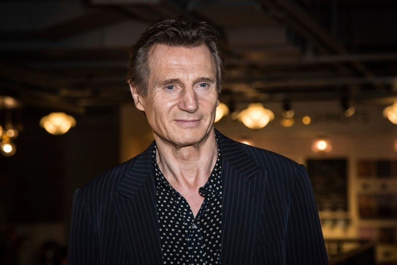 In this Tuesday, Sept. 13, 2016 file photo, actor Liam Neeson poses for photographers upon his arrival at the premiere of the film 'Hunt For The Wilderpeople' in London. (AP Photo)