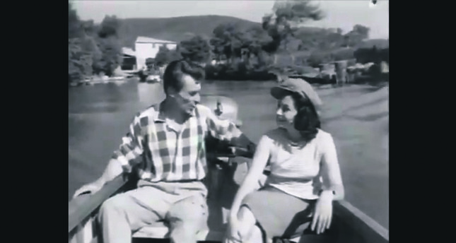 "Scene from the film ""Gece Kuşu."""