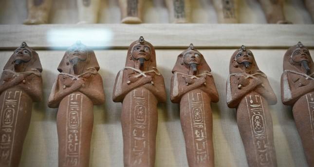 الشرطة العراقية تنقذ آثارا فرعونية قبل بيعها ببغداد