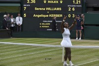 Serena Williams wins 7th Wimbledon title in final against Germany's Kerber