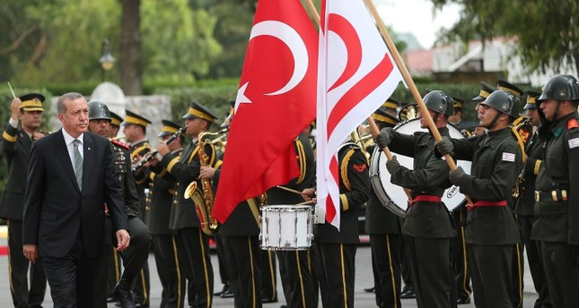 Turkey will never let Northern Cyprus' rights be extorted, Erdoğan says on country's anniversary