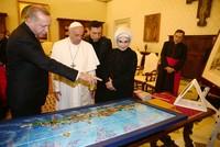 Erdoğan, Pope Francis agree Jerusalem's status quo should be preserved