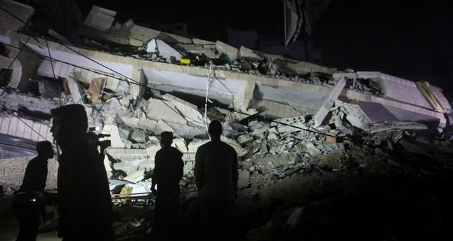 الجيش الإسرائيلي يدمر مكتب جمعية ياردم ألي الإغاثية التركية