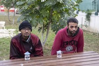 Migrants remember violent treatment by Greek authorities