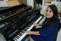 Proud success of little Turkish pianist