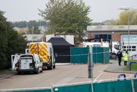 UK police find 39 dead bodies in truck container
