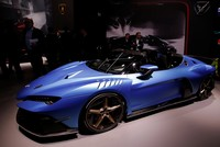 Deluxe sports cars dazzle crowd at Geneva auto show