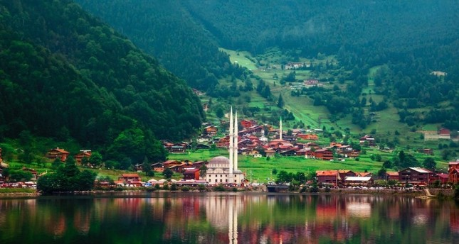 Lake Uzungöl is one of the most beautiful corners in the Black Sea region, stretching below the Kaçkar Mountains.