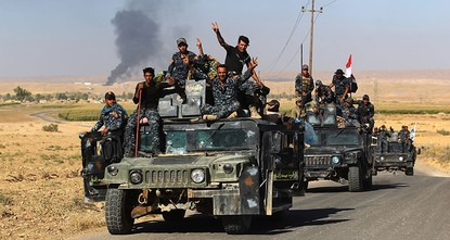 pIraqi government forces said on Wednesday that they had achieved their objectives in a lightning 48-hour operation against peshmerga forces in disputed territory outside the autonomous Kurdistan...
