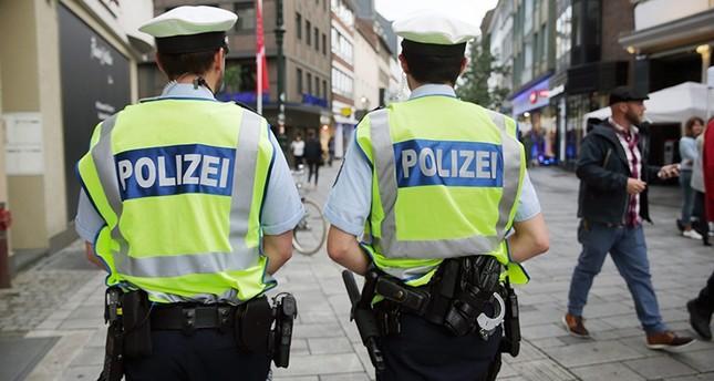 German police patrol the historic center of Duesseldorf, Germany, 03 June 2016 EPA Photo