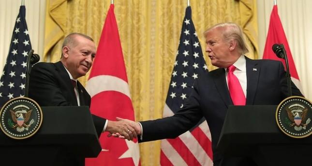 قمة أردوغان-ترامب.. توافق على مكافحة الإرهاب وتعزيز العلاقات الثنائية