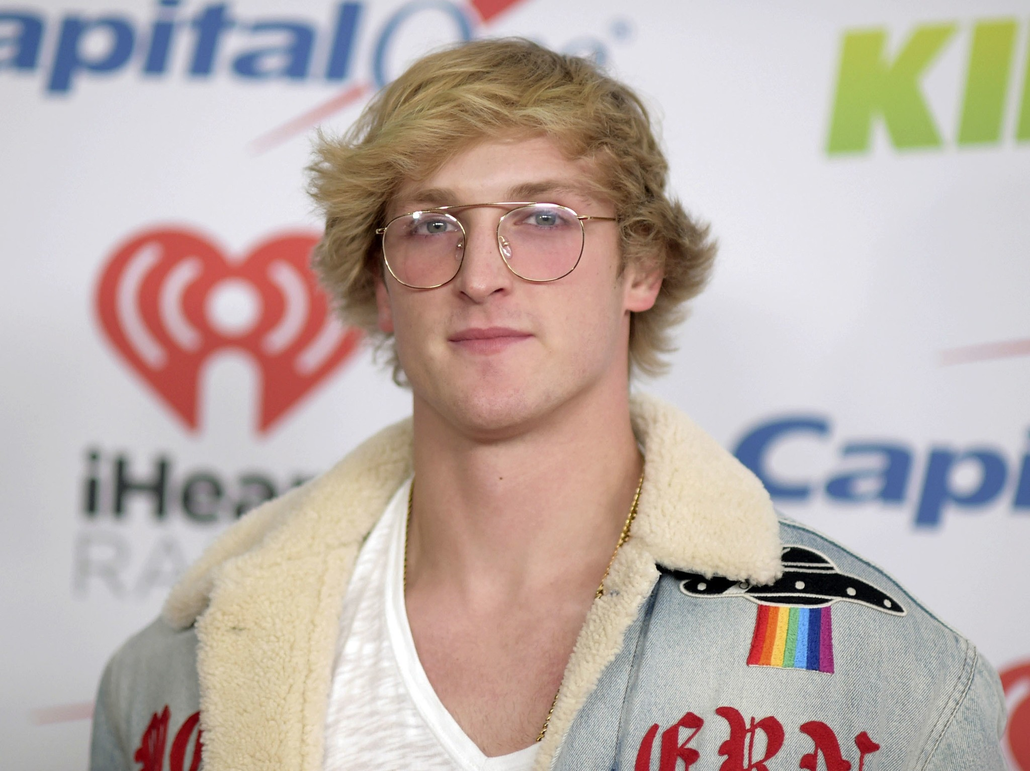 YouTube personality Logan Paul arrives at Jingle Ball in Inglewood, Calif.  (AP Photo)