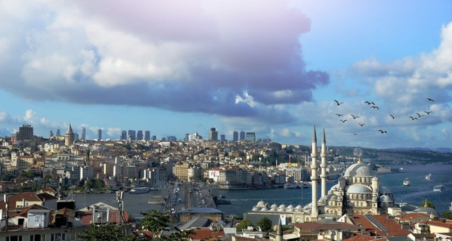 Spectacular views of Istanbul's skyline can be seen during the Istanbul Rooftop Festival, scheduled for this weekend.